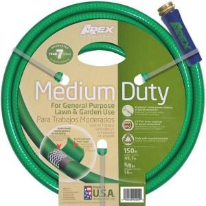 Apex 5/8 in. x 150 ft. Medium Duty Reel Water Hose 8535 150