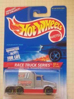 Race Truck Series #2 Kenworth T600 1996 #381 Collectible Collector Car Mattel Hot Wheels 164 Scale Toys & Games
