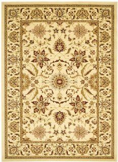 Ivory Traditional Oriental rug by Safavieh Lyndhurst in 8'x11'