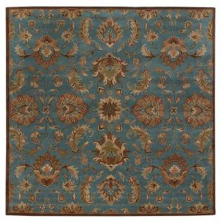 Home Decorators Collection Vogue Teal Blue 8 ft. Square Area Rug 0167480310