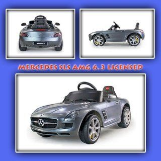 New Mercedes SLS AMG 6.3 LICENSED Baby Kids Ride On Power Wheels Battery Toy Car  Remote Control Toys & Games