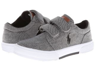 Polo Ralph Lauren Kids Faxon Ez II Boys Shoes (Gray)