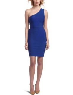 BCBGMAXAZRIA Women's Power Dress, Larkspur Blue, X Small