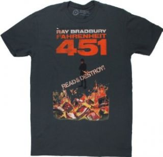 Out Of Print New York Fahrenheit 451 T Shirt   Heavy Metal Clothing