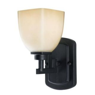 World Imports Galway 1 Light Oil Rubbed Bronze Wall Sconce WI858188