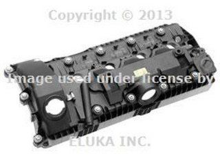 BMW Genuine Engine Cylinder Head Valve Cover   Cylinders 1 4 for X5 4.4i X5 4.8is 545i 550i 550i 645Ci 650i 650i 645Ci 650i 650i 745i 750i ALPINA B7 745Li 750Li X5 4.8i Automotive