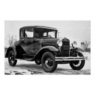 1930 Ford Model A Coupe, February 9,1930 Posters