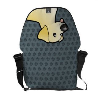 Cartoon Labrador Retriever Courier Bags