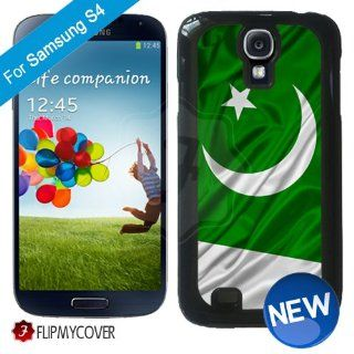 Pakistan Flag Waving Samsung Galaxy S4 i9500 i9505 Plastic Hard Phone Cover Case