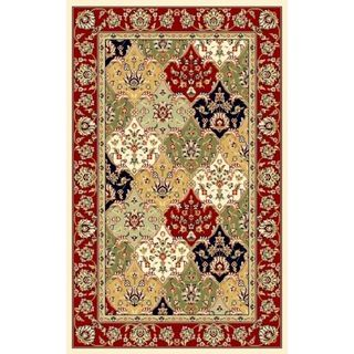 Lyndhurst Collection Multicolor/ Red Rug (4' x 6') Safavieh 3x5   4x6 Rugs