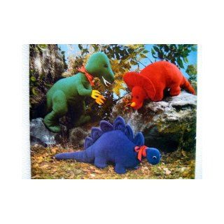 Butterick Craft 5753 or 455 The Beauty in the Beast Dinosaurs Pattern Stuffed Animals Butterick Pattern Service Books