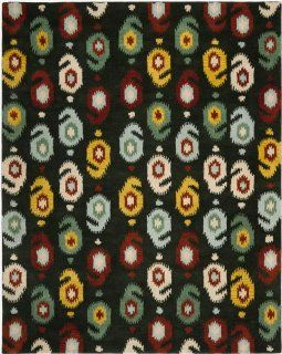 Safavieh Ikat Collection IKT471A Area Rug, 2 by 3 Feet, Charcoal Grey