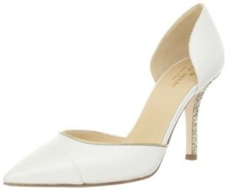 Kate Spade New York Women's Piper Pump,Ivory,5.5 M US Shoes
