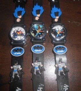 "7.5"" BATMAN FLYING   BLACK Adjustable Kids Watch (Styles will vary) Toys & Games"