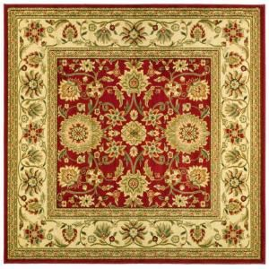 Safavieh Lyndhurst Red/Ivory 8 ft. x 8 ft. Square Area Rug LNH212F 8SQ