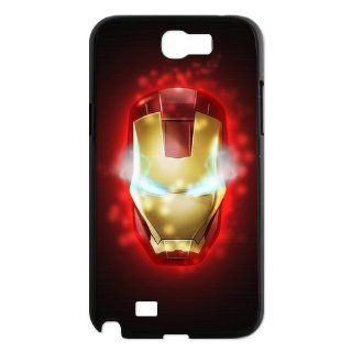 Designyourown Case Iron Man Samsung Galaxy Note 2 Case Samsung Galaxy Note 2 N7100 Cover Case Fast Delivery SKUnote2 483 Cell Phones & Accessories