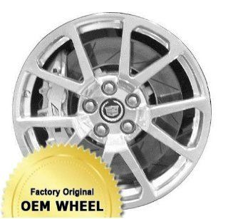 CADILLAC CTS,STS 19x9 5 DOUBLE SPOKE Factory Oem Wheel Rim  SILVER   Remanufactured Automotive