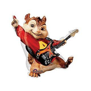 "One XL 32"" ALVIN AND THE CHIPMUNKS Happy Birthday PARTY Balloons Decorations Supplies"