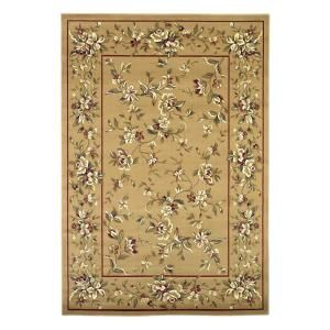 Kas Rugs Traditional Florals Beige 9 ft. 10 in. x 13 ft. 2 in. Area Rug CAM7338910X132
