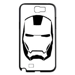 Designyourown Case Iron Man Samsung Galaxy Note 2 Case Samsung Galaxy Note 2 N7100 Cover Case Fast Delivery SKUnote2 486 Cell Phones & Accessories