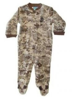 U.S. Marine Corps. Camo Infant/Baby/Toddler Bulldog Crawler / Sleeper Infant And Toddler Apparel Clothing