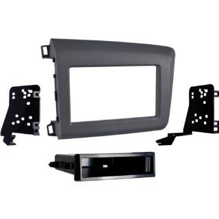 '12 Up Honda Civic ISO Single Din and Double Din Radio Installation Kit Electronics