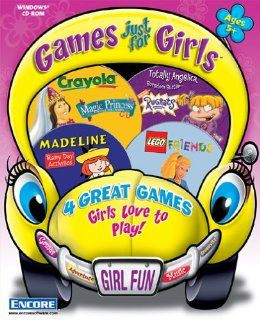 Games Just For Girls 2 (Lego   Friends, Rugrats   Angelica Bordom Buster, Crayola   Magic Princess, Madeline   Rainy Day) Video Games