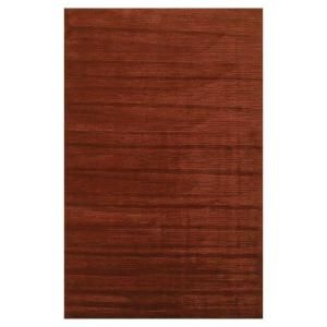Kas Rugs Solid Texture Brick 2 ft. 6 in. x 4 ft. 2 in. Area Rug TRA331930X50