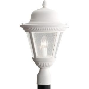 Progress Lighting Westport Collection White 2 light Post Lantern P5434 30