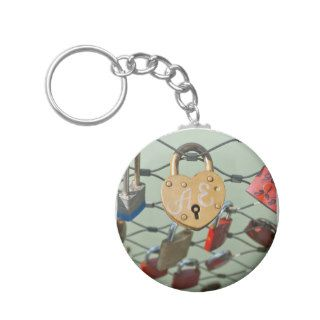 Love Lock Key Chains