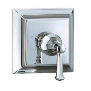 KOHLER Memoirs 1 Handle Rite Temp Pressure Balancing Valve Trim Kit in Polished Chrome (Valve Not Included) K T463 4S CP