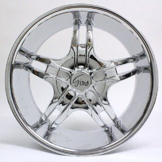 20 Inch Gino Chrome Wheel Rim #498 Automotive