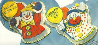Wilton Cake Pan Circus Clown (502 3193, 1981) Novelty Cake Pans Kitchen & Dining
