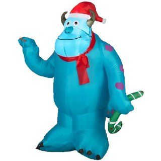 Gemmy Airblown Inflatable Christmas Disney Monsters University Sulley 3.5' Tall  Outdoor Decor  Patio, Lawn & Garden