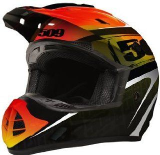 509 Evolution Helmet   BLACK FIRE (Medium, BLACK FIRE) Automotive