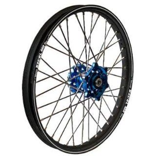 Talon MX Front Wheel Set with Excel Rim   1.60x21   Dark Blue/Black , Color Blue, Position Front, Rim Size 21 56 3101DB Automotive