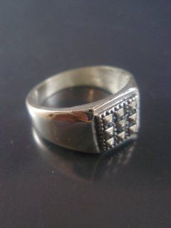 Israel Delini Designers Hand Made Art Signet Ring Solid Silver Sterling Ring  Other Products