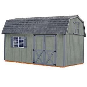 Best Barns Meadowbrook 10 ft. x 16 ft. Wood Storage Shed Kit meadowbrook_1016
