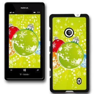 Christmas Holiday Design Collection Hard Phone Cover Case Protector For Nokia Lumia 520 521 #8140 Cell Phones & Accessories