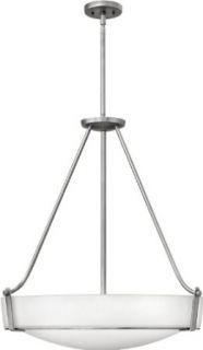 Hinkley Lighting 3224AN 5 Light Foyer Pendant from the Hathaway Collection, Antique Nickel   Ceiling Pendant Fixtures