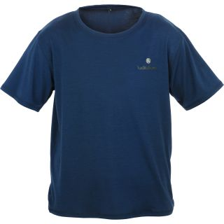 Lucky Bums Kids Super Soft Short Sleeve Tee   Size Small, Blue (215BLS)