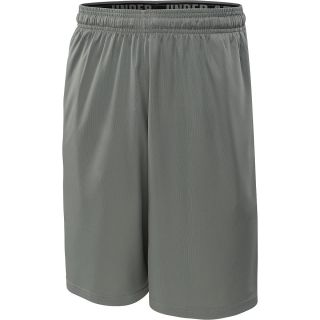 UNDER ARMOUR Mens HeatGear Micro Training Shorts   Size Small, Graphite/black