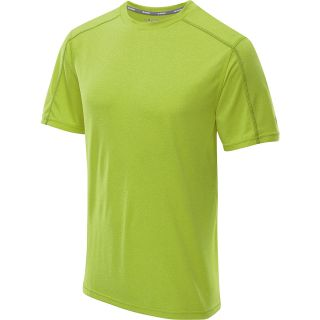 CHAMPION Mens PowerTrain Heather Short Sleeve T Shirt   Size Medium, Limon