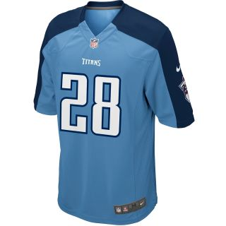 NIKE Youth Tennessee Titans Chris Johnson Game Team Color Jersey   Size Small
