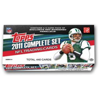 Topps 2011 NFL Factory Complete Set of 440 Football Cards Plus 5 Rookie Card