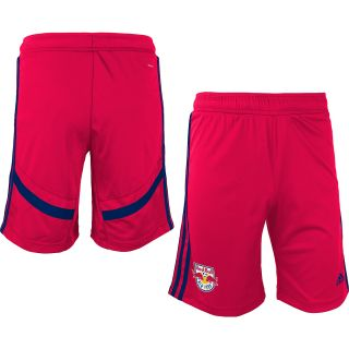 adidas Youth New York Red Bulls Training Shorts   Size Medium