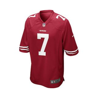 NIKE Mens San Francisco 49ers Colin Kaepernick Game Team Color Jersey   Size