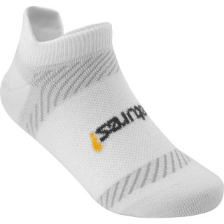 FEETURES High Performance Ultra Light No Show Socks   Size Small, White