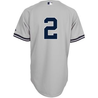 Majestic Athletic New York Yankees Derek Jeter Authentic Road Jersey   Size