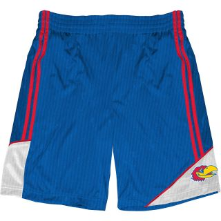 T SHIRT INTERNATIONAL Mens Kansas Jayhawks Pyramid Shorts   Size 2xl,